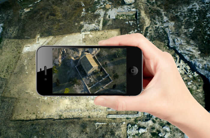 AR and Drones in Archaeology